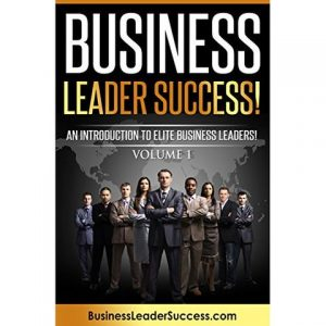 Business Leader Success Book Cover